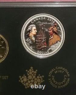 2018 SpecialEdition Silver Dollar Proof Set 7Coins 240e Captain Cook NootkaSound