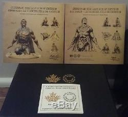 2018 Superman Last Son of Krypton $100 10OZ Silver Proof Sculpture Coin Canada
