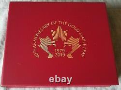 2019 $10 1/4oz PROOF 40TH Anniv GML 1/4oz Coin & 1oz Silver Bar Special Set