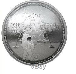 2019 $25 Canada Apollo 11 Ngc Pf70 Silver Proof 50th Anniv First Releases Pop27