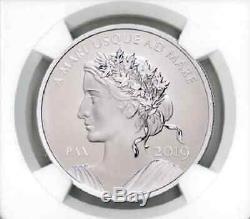 2019 Canada 1 Oz Silver Peace & Liberty PF70 REV PF UHR FDOI Signed OGP