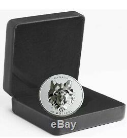 2019 Canada 1 oz Multifaceted Animal Head Wolf Silver Proof Coin SOLD OUT @ MINT