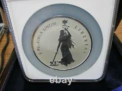 2019 Canada 10 oz Silver Peace and Liberty Mint Medal Mercanti Taylor PR70 Q2F5