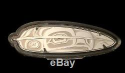 2019 Canada $20.9999 1 Oz Eagle Feather Silver Proof Coin Low Mintage 3,000