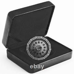 2019 Canada 3 Ounce Centennial Flame of Canada Antique Finish Silver Proof Coin