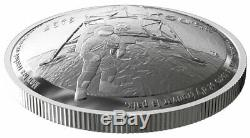 2019 Canada Apollo 11 Domed 50th 1 oz Silver $25 GEM Proof OGP PRESALE SKU58408