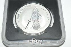 2019 Canada Peace & Liberty 1 Oz Silver Medal NGC PF69 FR Reverse Proof