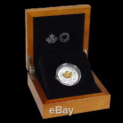 2019 Canada Silver $15 Golden Maple Leaf Proof SKU#195419