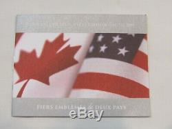 2019 Canada & U. S. L. E. Pride Of Two Nations Set Silver Eagle & Maple Leaf Ogp