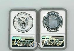 2019 PRIDE TWO NATIONS ASE SET NGC REV PF70 First Day Issue RCM Canada Set w Box