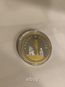 2019 Peacekeeping Renewed Dollar Masters Club 2oz Silver Proof $1 Coin Canada