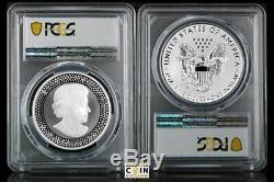 2019 Pride Of Two Nations Canada Set Pcgs Rev Pr70 2-coin Set Canada Set