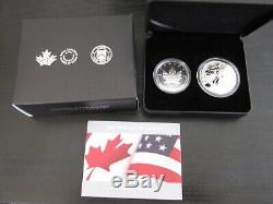 2019 Pride of Two Nations Limited Edition Two-Coin Set (Canada Set)