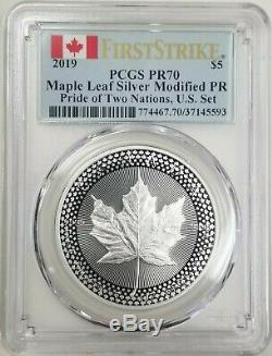 2019 Pride of Two Nations PCGS PR 70 Royal Canada IN STOCK & SHIPPING NOW