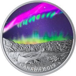 2019 Steve Sky Wonders $20 1OZ Pure Silver Proof Coin Canada Glow-in-Dark