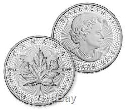 2019w Rev. Proof Silver Eagle & 2019 Canada Maple Leaf Pride Of Two Nations Set