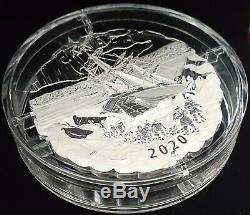 2020 175th Franklin's Lost Arctic Expedition 5OZ Silver Proof $50 Coin Canada