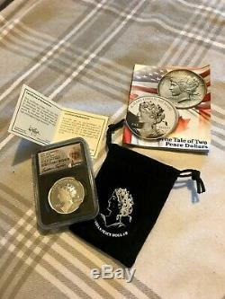 2020 1oz Canada Peace Liberty Ultra High Relief 1 oz Silver Proof NGC 70