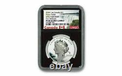 2020 Canada 1 oz Ultra High Relief Silver Peace Dollar Proof $1 Coin NGC PF69 UC
