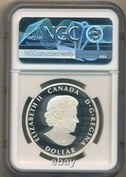 2020 Canada Silver 1 Oz Peace Dollar Ultra High Relief-ngc Pf70 Uc-free Sh-inv2