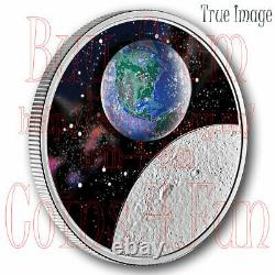 2020 Glow-In-The-Dark Mother Earth Our Home $20 Pure Silver Proof Coin