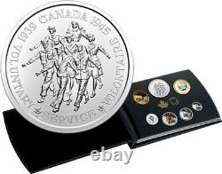 2020(L7)'Classic Canadian Coins' Proof Set of Fine Silver Coins(RCM 177255)18966