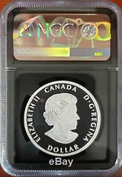 2020-ultra High Relief Canada Peace Dollar-ngc Pf70-taylor Signed-population 628