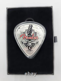 2021 1 oz. Silver Proof Fender 75th Anniversary Proof Coin
