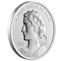 2021 CANADA $1 PAX Peace Dollar 1oz Pure Silver Ultra High Relief Proof Coin