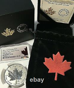 2021 CANADA $20 MAPLE LEAF SILVER 1 Oz SUPER INCUSE NGC REVERSE PROOF 70 FR