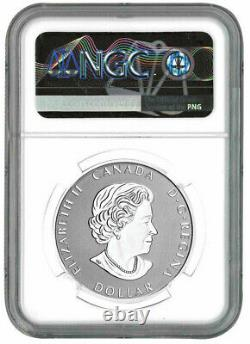 2021 Canada 1oz Silver Peace Dollar Ultra High Relief Reverse Proof NGC PF 70 FR