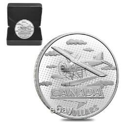 2021 Canada 5 oz First 100 Years of Confederation Canada Takes Wing Silver Coin