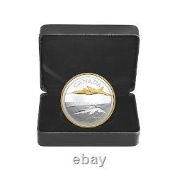 2021 Canada 5 oz The Avro Arrow Proof Silver Coin. 9999 Fine (withBox & COA)