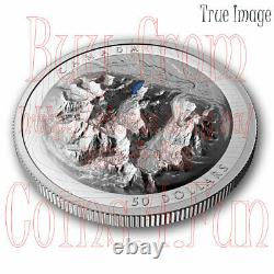 2021 Lake Louise $50 EHR Extra High Relief Proof Pure Silver Coin Canada