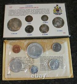 5 1967 Canada Proof Like PL Silver Sets