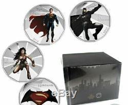 Batman v Superman 2016 Canada $30 Coin 2.015 oz. 999 Silver OGP Dawn of Justice