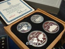 CANADA 1976 SILVER OLYMPIC PROOF SET No I