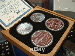 CANADA 1976 SILVER OLYMPIC PROOF SET No V