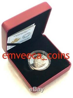 CANADA 2020 Proud Bald Eagle Extra High Relief $20 Pure 1oz Proof Silver Coin