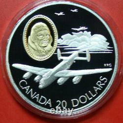 Canada 10 X 20 Dollar Silver Pp-Proof #F3429 Aviation Complete 1 5. Edition