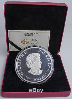 Canada $125 Silver Half Kilo Wildlife Conservation Series Whooping Crane C2376