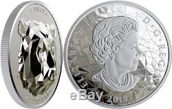 Canada 2 x 25$ 2019 Silver PROOF Wolf + Grizzly Multifaceted Animal Head