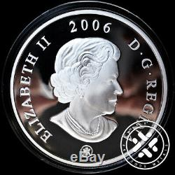 Canada 2006 $50 5 oz Proof Four Seasons Silver Commemorative Coin Box & COA