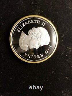 Canada 2012 All Fine Silver Proof Set Has Gold Plated Silver Penny War 1812