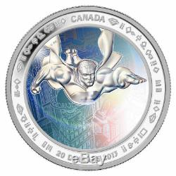 Canada 2013 $20 Fine Silver Coin 75th Anniversary of Superman Metropolis Proof