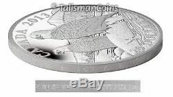 Canada 2013 Bald Eagle #2 Lifelong Mates $20 1 Oz Silver Proof w Edge Lettering