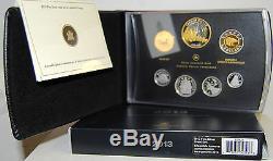 Canada 2013 Fine Silver Dollar Proof Set / Kanada KMS silber Cartera Plata Dolar