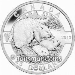 Canada 2013 Oh! Canada Series #2 Beaver $25 Pure Silver Proof