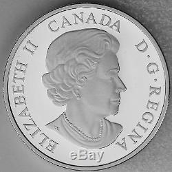 Canada 2015 $20 Looney Tunes Merrie Melodies 1 oz 99.99% Pure Silver Color Proof