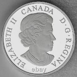 Canada 2015 $20 Majestic Elk 1 oz. 99.99% Pure Silver Color Proof Coin